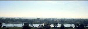 Oder River Panorama by Clu-art