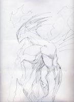 Creature sketch by 9thRealm