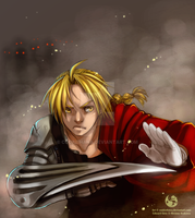 Edward Elric-Repost by CookieHana