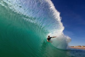 Bodysurfing In Perth Western A by LouisStone
