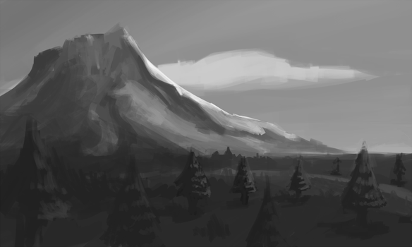 Mountain by seffylocks