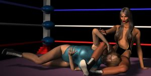 Shadiyah leg lock by cattle6
