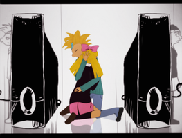 Hey Arnold - Rolling Girl by Wolfs-Angel17