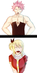 NaLu: Wearing each others outfits by AYUM23