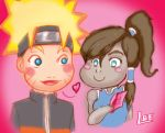 Love Letters - Naruto and Korra by LazyBrownEyes