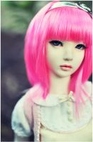 tickle me fluro pink by hiritai