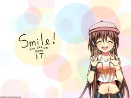 .Smile. by yuuh-chan