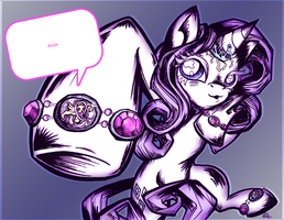 Rarity's Bling by Opallene