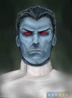 Thrawn portrait by Evolvana