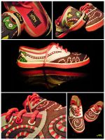 Custom shoes Part 2 by badianychick
