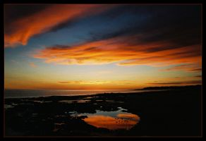 Reddell sunset reflections 1 by wildplaces
