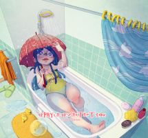 In my bathroom... by Nephyla
