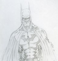 Batman Sketch 2 by nikolaip