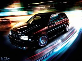 VW Golf III by SrCky