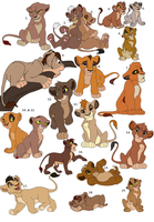 More TLK Adoptables ALL GONE by Claire-Cooper