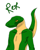 Rex 'Furry' drawing, Request by AspendingKills