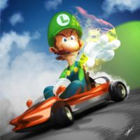 No more shells for you! Mario Kart 8 by tommasorenieri