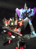 Skyjack and Darkwing, Decepticons most powerful by forever-at-peace