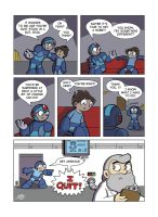 Despondent Mega Man - Bad Days Part 3 by JesseDuRona