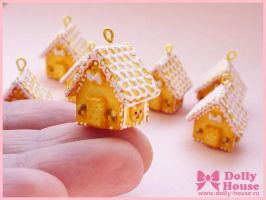 Sweet house pendants by SweetDollyHouse
