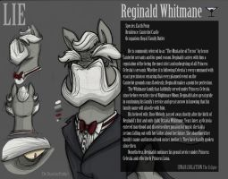 Reginald Character Study by TheDracoJayProduct