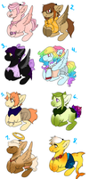 Megapone Adopts -CLOSED- by DeerestHammy