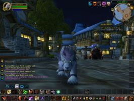 My sister on WoW 2 by Kalix5