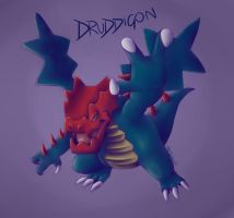 Druddigon by Naixoa