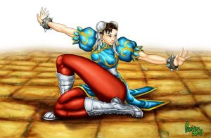 CHUN-LI: STREET FIGHTER 4 by viniciusmt2007