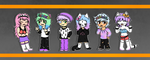 Pastel Goths by Mama-Meatball