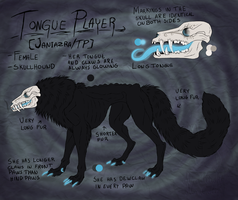 Ref. sheet- Tongue Player by Narncolie