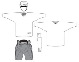 Hockey Uniform Template by matthiason