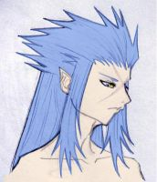 Saix+Second Attempt by WanderingDarkness205