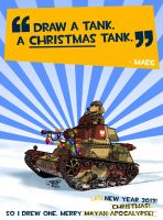 A CHRISTMAS tank! -Pt.2 by wingsofwrath
