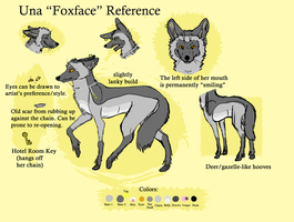 Foxface Reference by Evelyn-Cross