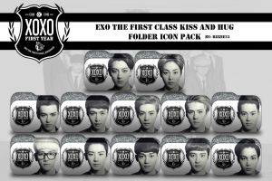 EXO XOXO Folder Icon Pack by Rizzie23