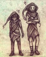 Vagabond and Mendicant by Psychocereals