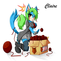 Commission: Claire by xilefti
