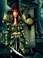 World of warcraft - Ret Color by AHague