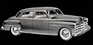 age of chrome and fins : 1950 Plymouth by Peterhoff3