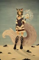 Ahri acrylique by Pandhes