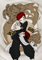 Gaara of the Desert by Roxx-1