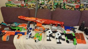 Nerf Gun Colection by JayPrower