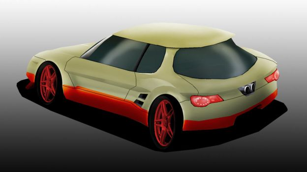 Car Concept One by aethiself