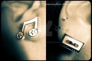 Music lies beneath the ear... by FranIndie