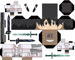 Kirito Knights of the Blood by hollowkingking
