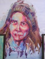Portrait In Oil by aastusharma