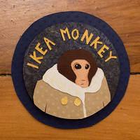 IKEA Monkey by PlaidCushion