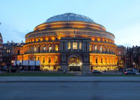 Midevening Royal Albert Hall by ggeudraco