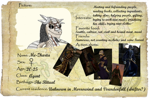ID Argonians of Tamriel - Me-Zharta or Zharty by Dreamer-In-Shadows